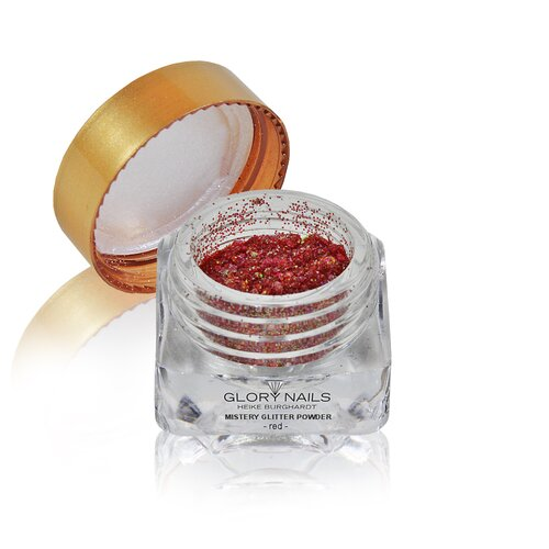 Mistery Glitter Powder - red