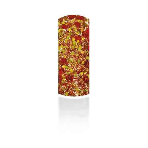 Multi Sparcle Glitter - red/gold