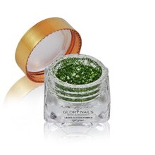 Laser Glitter Powder - light green