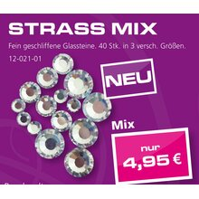 Strass Mix - Crystal