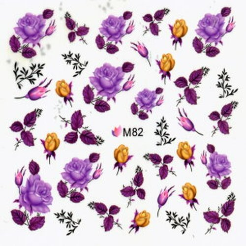 Decal - Rose violett  (M82)