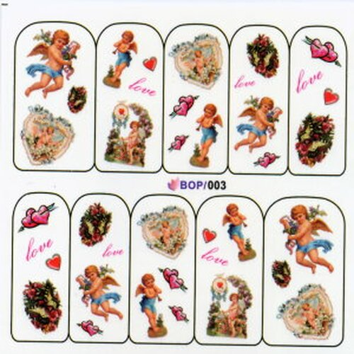 NailArt Decal (BOP 003)