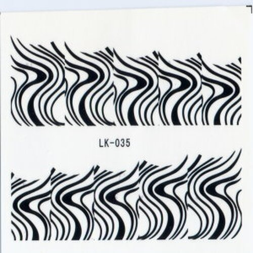 Decal -  French Waves (LK-035)