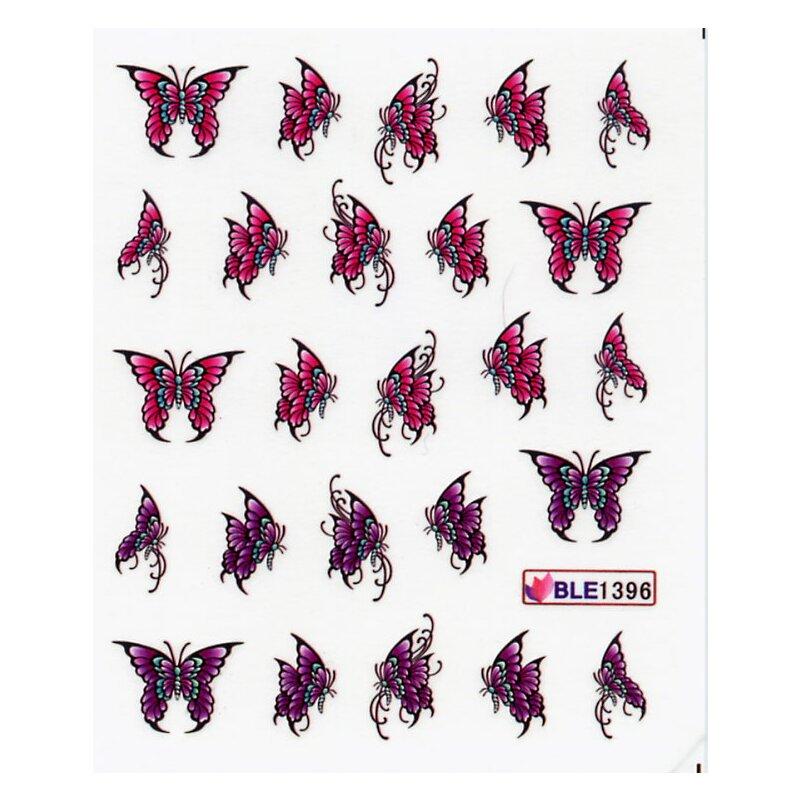 Wandfarbe Violett Lila Kolorat Eine Auswahl In Lila: Schmetterling, Violett/lila (BLE1396), 1,89