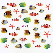 Decal -  Fische Nemos  (M98)