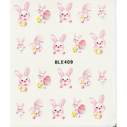 Oster Decal - Hase rosa- (BLE409)