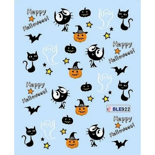 Halloween Decal (BLE922)