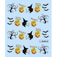 Halloween Decal - (BLE918)