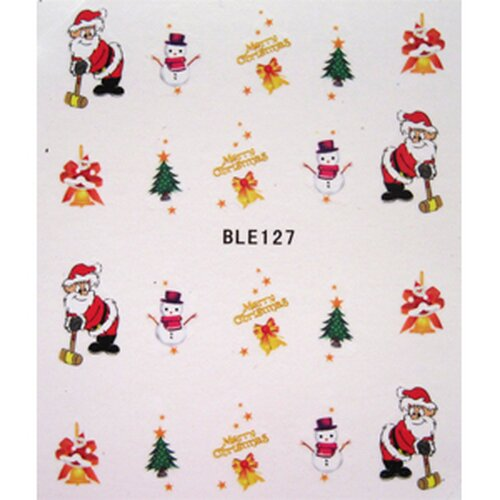 X Mas Decal  (BLE127))