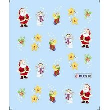 X Mas Decal (BLE916)