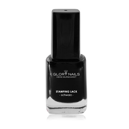 GN Stamping Lack, 12ml - Farbe: schwarz