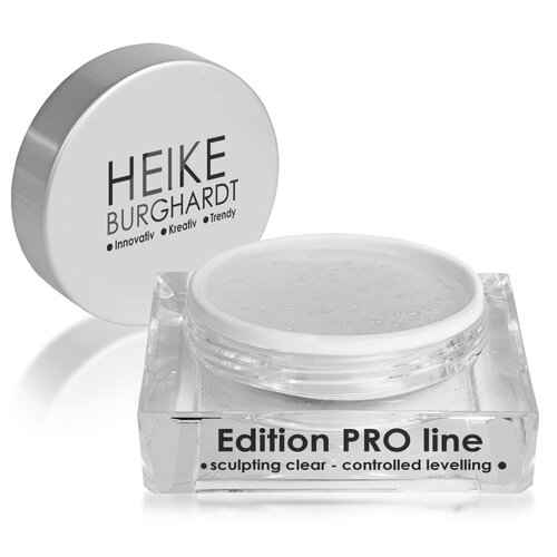 Edition PRO line - sculpting clear - controlled leveling, 15ml
