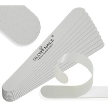 File surfaces - professional file - white, 100 - (10 pieces)
