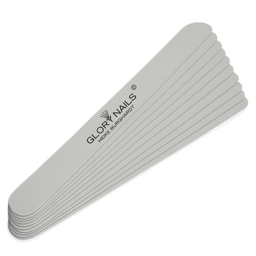 File surfaces - professional file - white, 180 - (10 pieces)