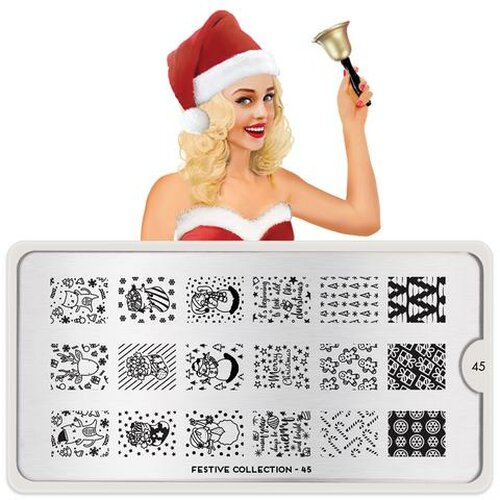 Stamping Plate - Festive 45