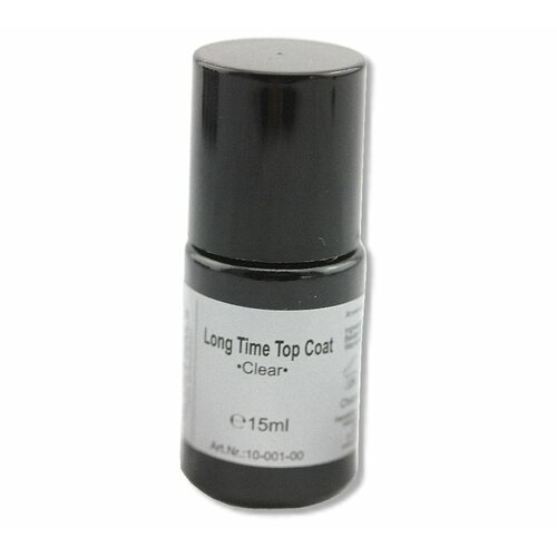Long Time Polish - Finish Clear Top Coat, 15ml
