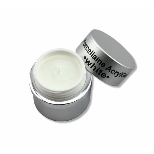 Porcellain AcrylGel - White, 15ml