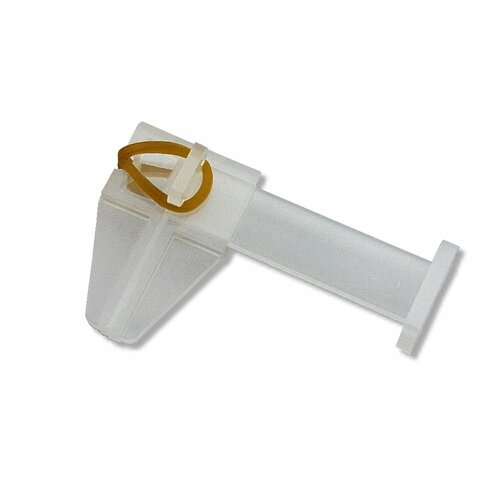 Pinch clamp, clear