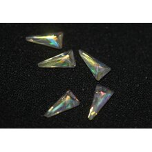 Glass Rhinestone Shapes, aurore - triangle