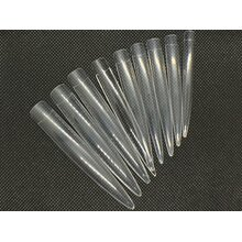 XXL Design Stiletto Tips, clear - 18pcs.