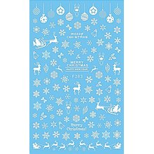 X Mas stickers - Christmas motifs 283 white