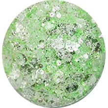 Mixed Pastell Glitter - pastell green
