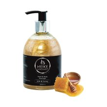 Hand & Body Duschgel - milk & honey, 300ml, pflegend &...