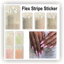 Flexible Stripe Sticker