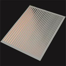 Flexible Stripe Sticker - rose gold