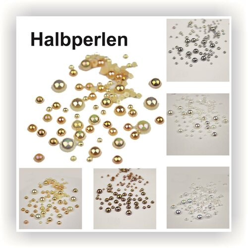 Halbperlen Set